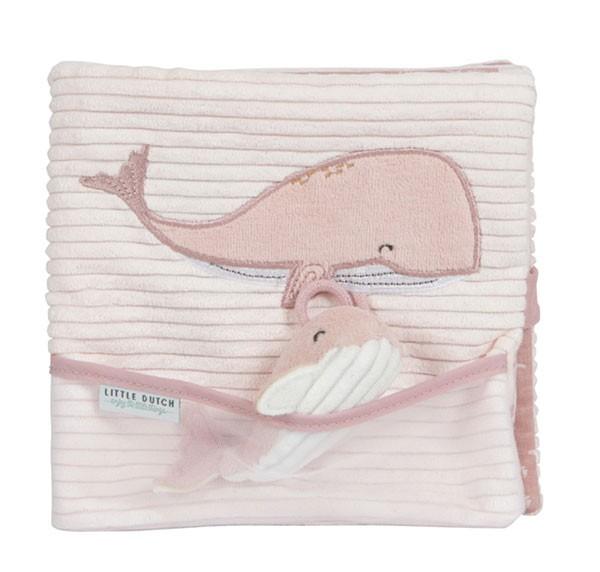 Baby Stoffbuch Ocean Pink
