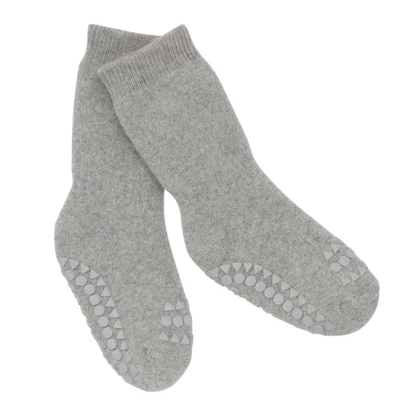"Antirutsch- Socken ""grey melange"""