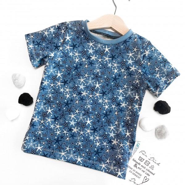 T-Shirt Seesterne Gr.80