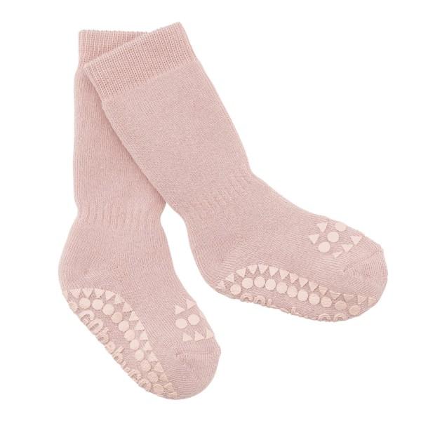 "Antirutsch- Socken ""dusty rose"""
