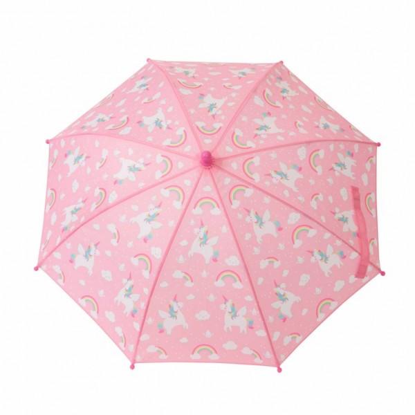 Kinder - Regenschirm Rainbow Unicorn