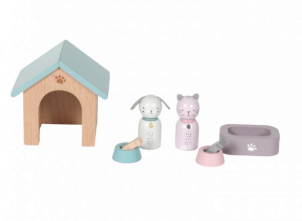 Puppenhaus Zubehör Tier-Set