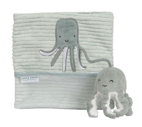 Baby Stoffbuch Ocean Mint