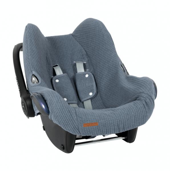 Babyschalenbezug Pure Blue