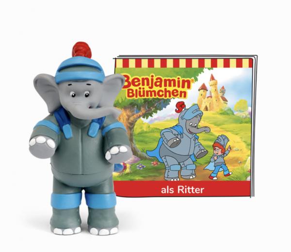 Benjamin Blümchen als Ritter