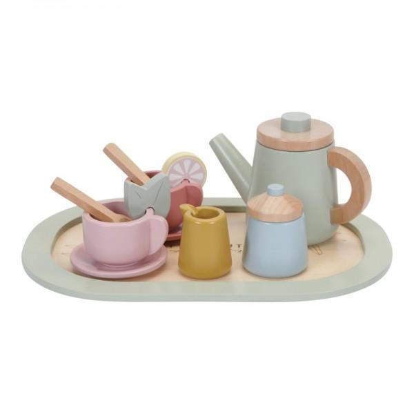 Holz Tee-Set
