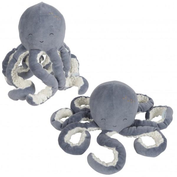 Kuscheltier Oktopus Blau