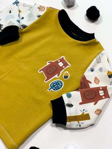 Pullover aus Sweat -Bären-
