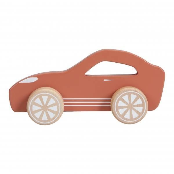Holz Sport Auto Rot