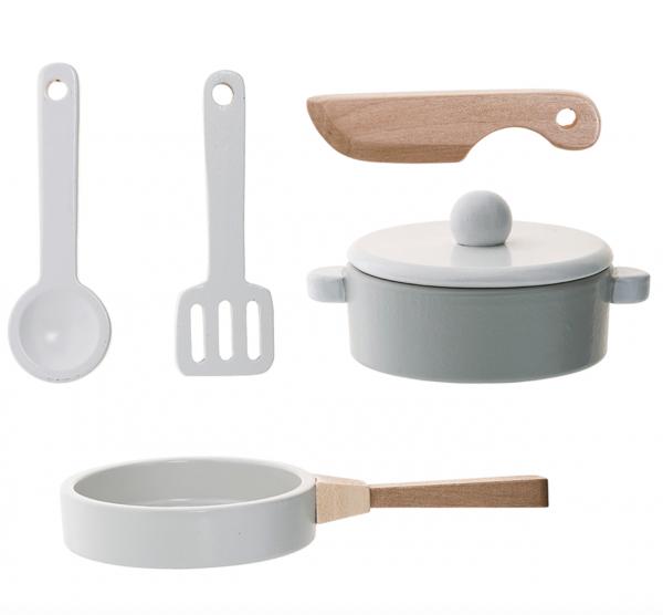 Küchen-Spielset Holz 5-tlg.
