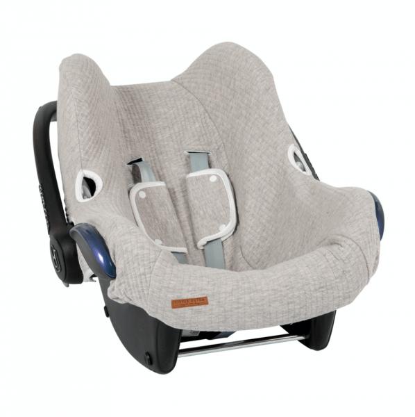 Babyschalenbezug Pure Grey
