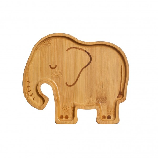Bambusteller Elefant