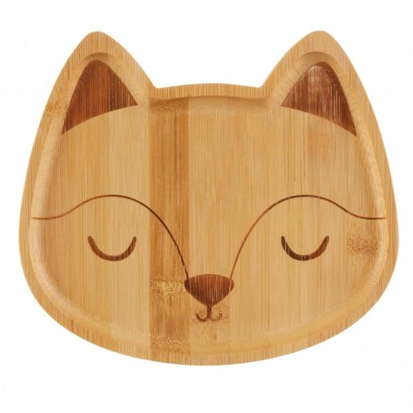 Bambusteller Fuchs